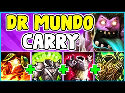 HOW TO PLAY DR MUNDO TOP & SOLO CARRY In Season 10   Dr Mundo Guide S10 - League Of Legends