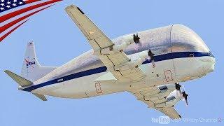 "【NASAの空飛ぶ魚 ""スーパーグッピー"" 】世界で1機しかないロケット・飛行機を収容可能な巨大輸送機 thumbnail"