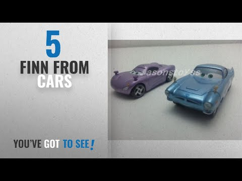 Top 10 Finn From Cars [2018]: Car Toys Pixar 1:55 Scale Diecast 2 Finn McMissile & Holly Shiftwell