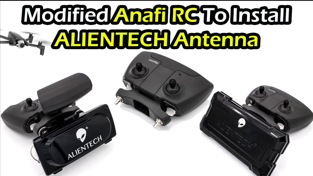 ANAFI RC signal expansion to install ALIENTECH antenna & Signal booster