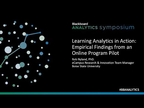 Analytics in Action: Empirical Findings from an Online Learning Program Pilot of A4L