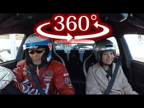 【360度 VR試乗】おつぽん × スバル WRX S4 tS 絶叫サーキット同乗試乗