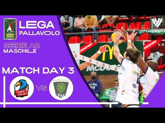 LIVE 🔴 Cuneo Volley vs. Motta di Livenza - Men's Serie A2 | 2021