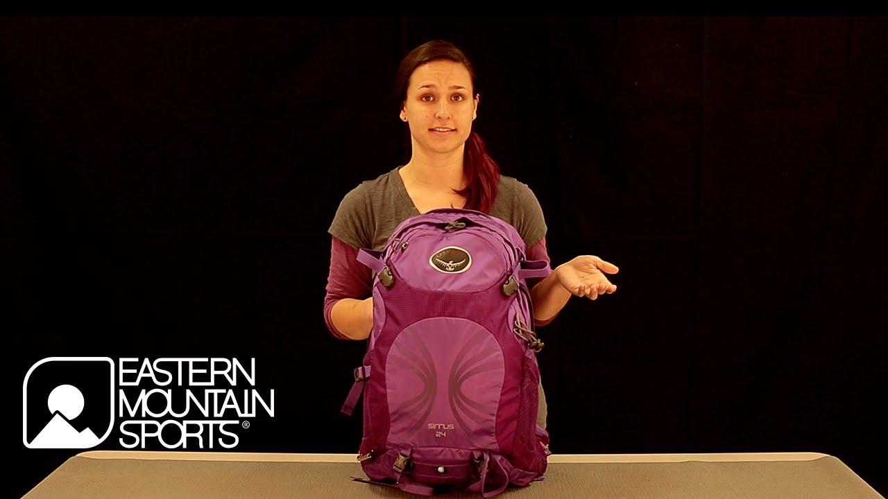 OSPREY Sirrus 24 Backpack - YouTube 269b057f0cb3b