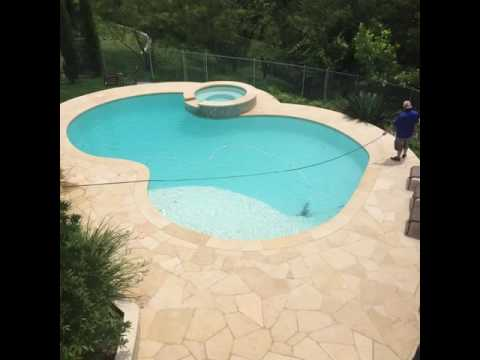 Austin Texas Limestone Patio Cleaning   CenTex Nice U0026 Clean
