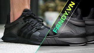 Adidas EQT Support ADV Black [ON-FEET]