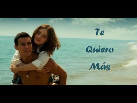 Te Quiero Más VIDEOCLIP (Tini Y Nacho) - Letra Oficial