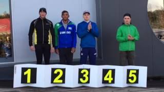 Иван Штыль Кубок Нела (Португалия), награждение 150 м