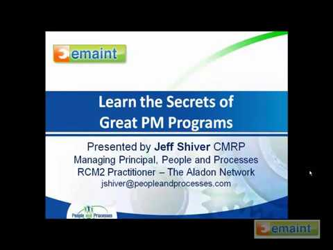 How To Run A Strong Preventative Maintenance System   EMaint Video