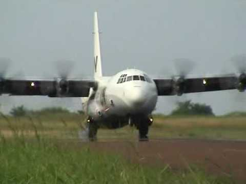 UN Aircraft / Flieger in Kindu D.R. Congo (TALCE)