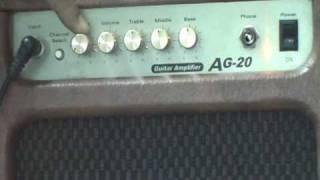 電吉他(教學影片)-第3課-音箱的使用