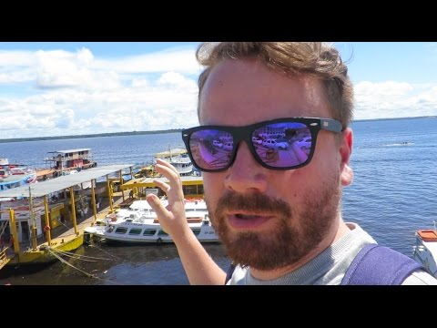 Exploring Manaus City Centre
