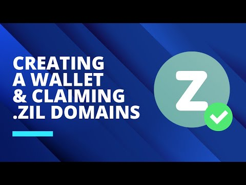 Creating A Wallet And Claiming Your .zil Domains