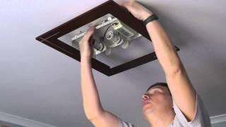 видео люстры в комнату