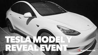 Tesla Model Y Reveal Event