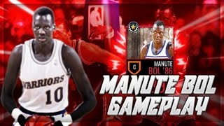 CRAZY MANUTE BOL GAMEPLAY |  PRO PACK CHALLENGE | NBA LIVE MOBILE | A TALL DRINK OF WATER