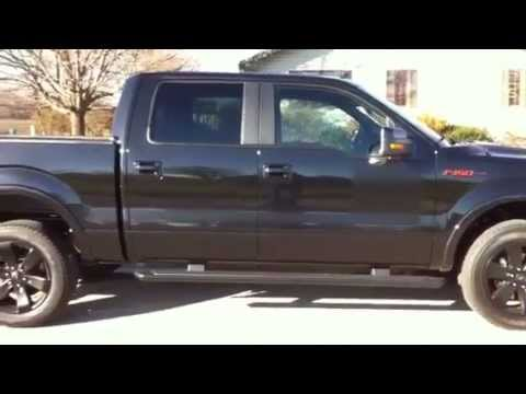 2013 Ford F150 Black Fx4 Super Crew 4x4 Ecoboost Fx Appeara