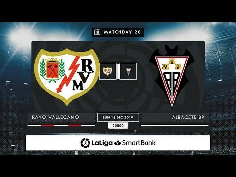 Rayo Vallecano - Albacete BP MD20 D2000