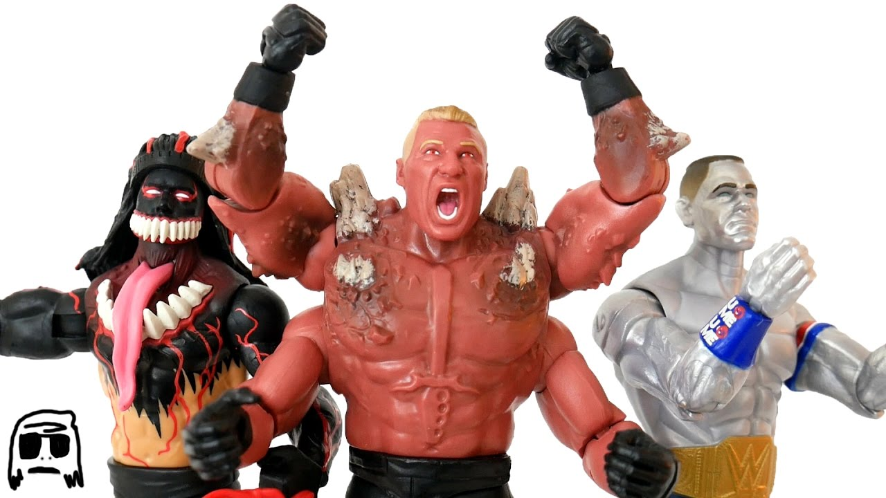 Brock Lesnar John Cena Finn Balor Wwe Mutants Toy Unboxing
