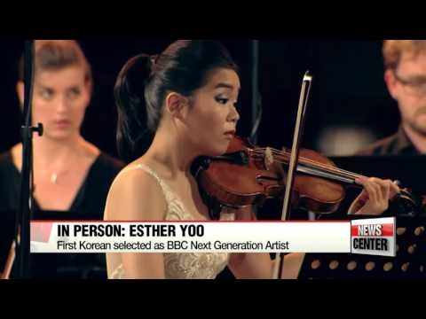 In person: Esther Yoo, Violinist