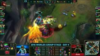 Impact Rumble 2v1 Worlds 2016 - Group Stage - C9 vs IM