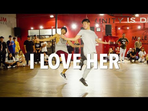 I LOVE HER - Chris Brown | Choreography by Alexander Chung
