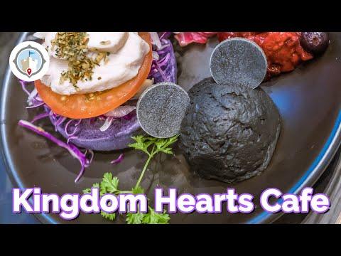 Kingdom Hearts Cafe in Tokyo, Japan   Food & Merchandise VLOG