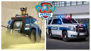 Paw Patrol Vehicles in Real Life