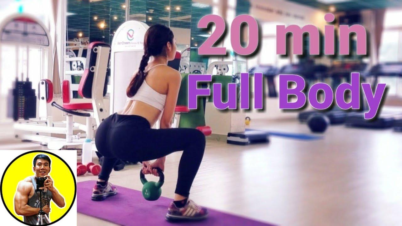 Bài Tập Giảm Mỡ Toàn Thân – 20 phút eo thon dáng đẹp – full body workout – HLV Ryan Long