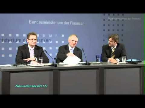 Wolfgang Schäuble - Wutausbruch auf Pressekonferenz