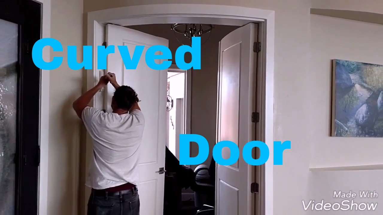 Exceptionnel Custom Curved Door #2 Of 2. DIY Carpentry