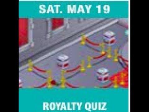 Royalty Quiz Woozworld 2018