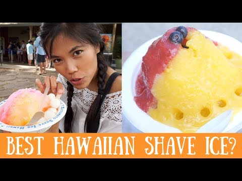 Oahu Shave Ice Review: Matsumoto, Monsarrat, And Waiola Shave Ice