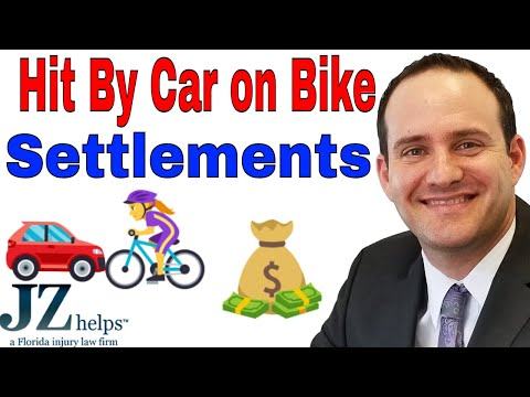 Bike Accident Settlements: Hit By a Car or Truck in Florida