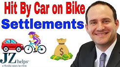 Hit By Car on Bike Settlements (Fractures, GEICO, State Farm & More)