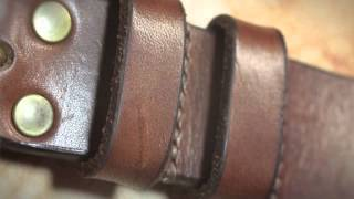 Leather-worker John Hagger, Home Ground Craft