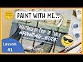 😎WATERCOLOUR STEP BY STEP painting book and lesson /TUTORIAL for BEGINNERS 2019 'A Trip to Italy'