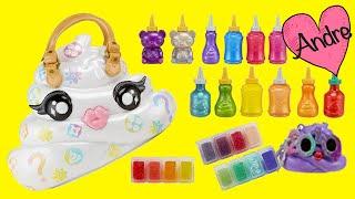 mueca baby alive sara abre poopsie slime jugando muecas y juguetes con andre para nias y nios