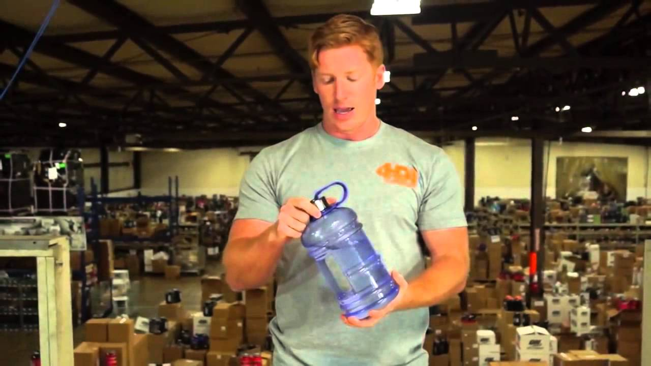 252421aadf Product Review of the New Wave, 2 Liter Water Bottle - YouTube