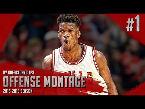 Jimmy Butler Offense & Defense Highlights Montage 2015/2016 (Part 1) - GETS BUCKETS!