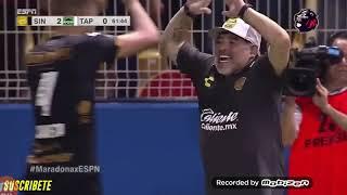 Maradona todos los goles del dorados de Sinaloa