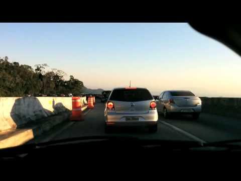 Timelapse - Car ride from Itaipava to Rio de Janeiro