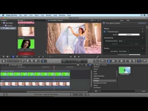 Getting Started with Primatte Keyer in FCPX
