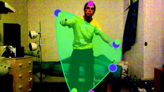 Kinect shape matching game