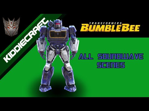 Transformers BumbleBee: All Soundwave Scenes