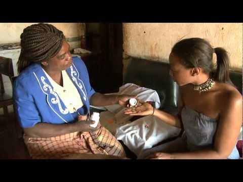 Christian Aid ambassador Beverley Knight in Malawi
