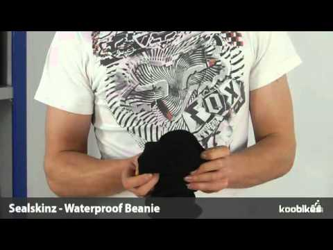 f2d6b251bec Koo Bikes - Sealskinz Waterproof Beanie Hat Peaked + Hi Viz - YouTube