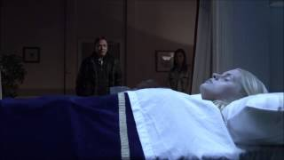 Eastenders - Ian looks at Lucy's Dead Body