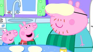 Peppa Pig Official Channel  Peppa Pig Learns to Make Pizza