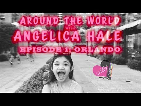 AROUND THE WORLD with Angelica Hale - Episode 1 Orlando | Travel Vlog